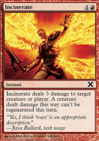 Incinerate - 10th Edition