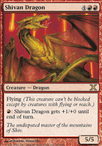 Shivan Dragon - 10th Edition