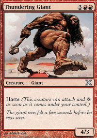 Thundering Giant - 10th Edition