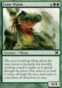 Craw Wurm - 10th Edition