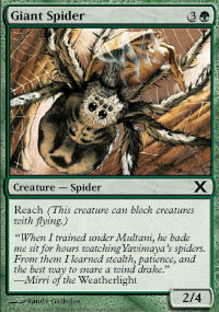 Giant Spider - 10th Edition