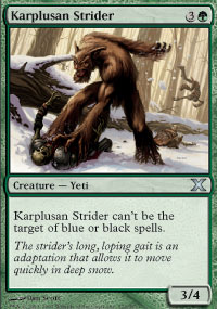 Karplusan Strider - 10th Edition