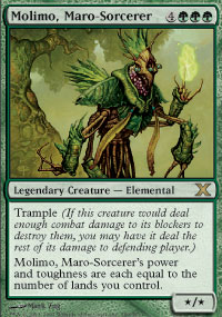Molimo, Maro-Sorcerer - 10th Edition