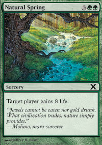 Natural Spring - 10th Edition