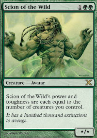 Scion of the Wild - 10th Edition