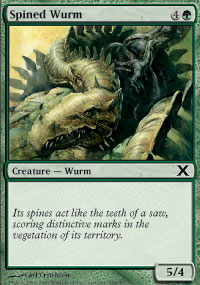 Spined Wurm - 10th Edition
