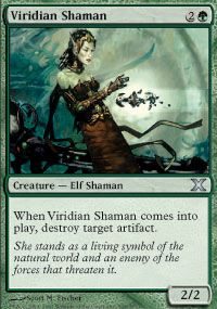 Viridian Shaman - 10th Edition