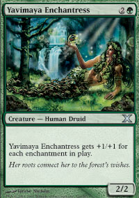Yavimaya Enchantress - 10th Edition