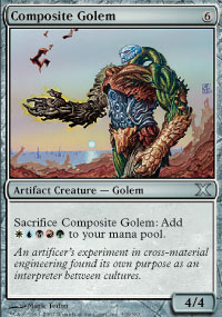 Composite Golem - 10th Edition