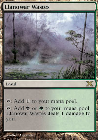 Llanowar Wastes - 10th Edition