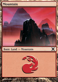 Mountain 1 - 10th Edition