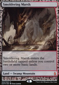 Smoldering Marsh - Zendikar Expeditions