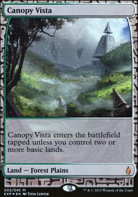 Canopy Vista - Zendikar Expeditions