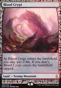 Blood Crypt - Zendikar Expeditions