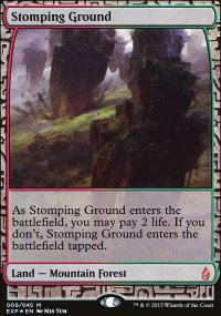 Stomping Ground - Zendikar Expeditions
