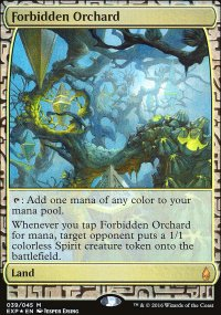 Forbidden Orchard - Zendikar Expeditions