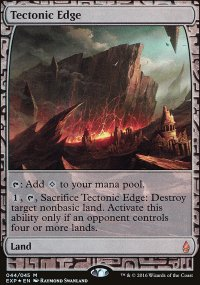 Tectonic Edge - Zendikar Expeditions