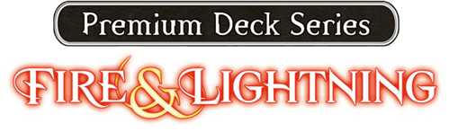 Premium Deck Series: Fire and Lightning logo