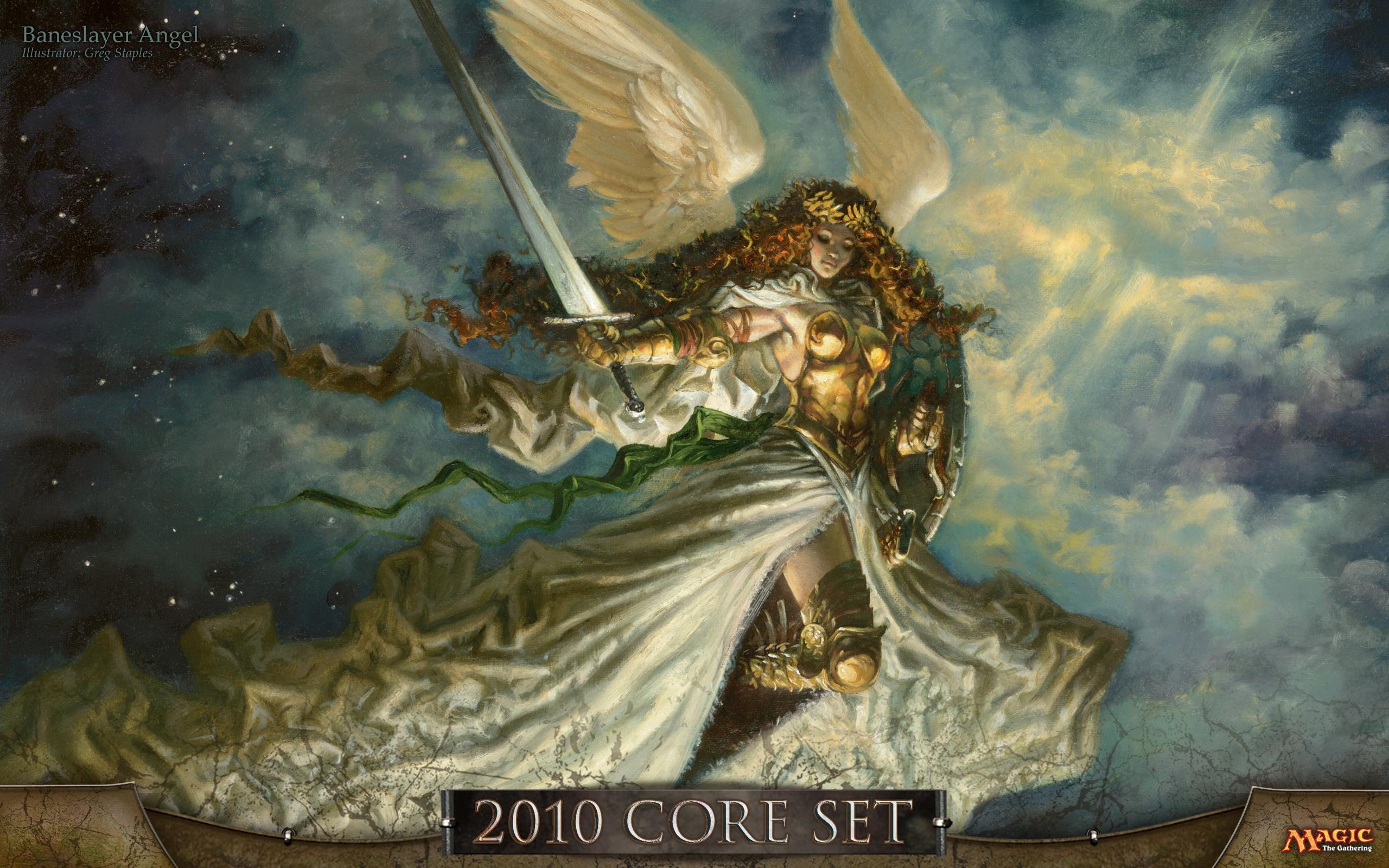Baneslayer Angel | Illustration by Greg Staples
