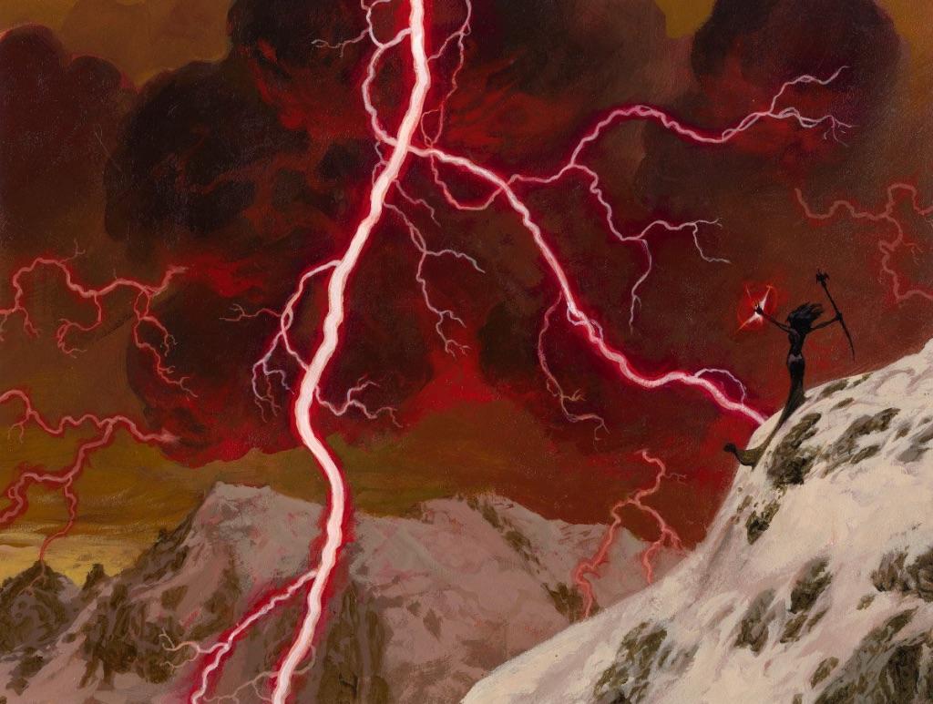Lightning Bolt   Illustration by Christopher Moeller