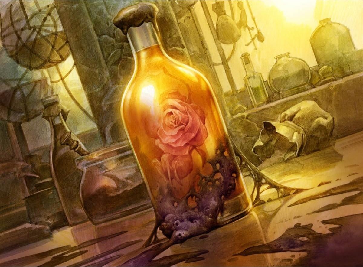 Elixir of Immortality | Illustration by Zoltan Boros & Gabor Szikszai