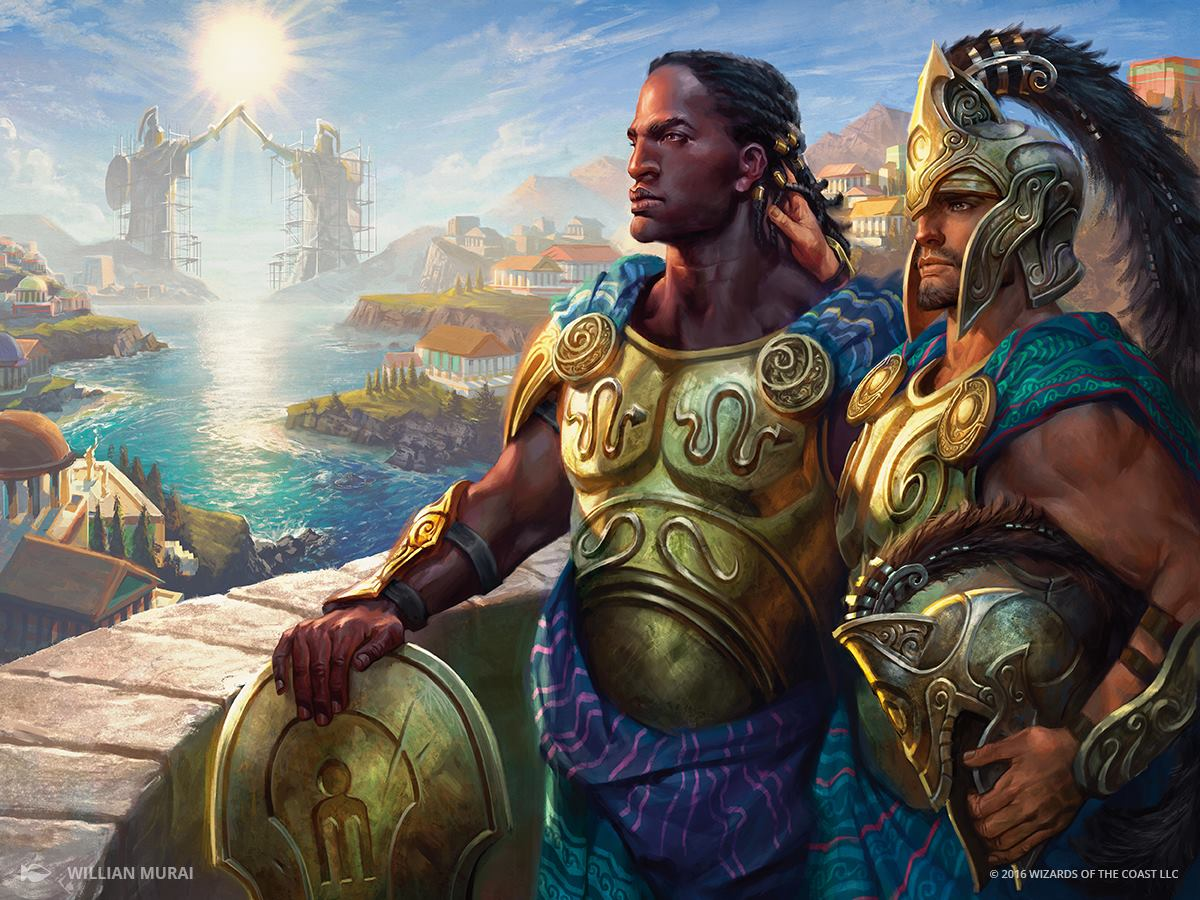 Kynaios and Tiro of Meletis   Illustrated by Willian Murai