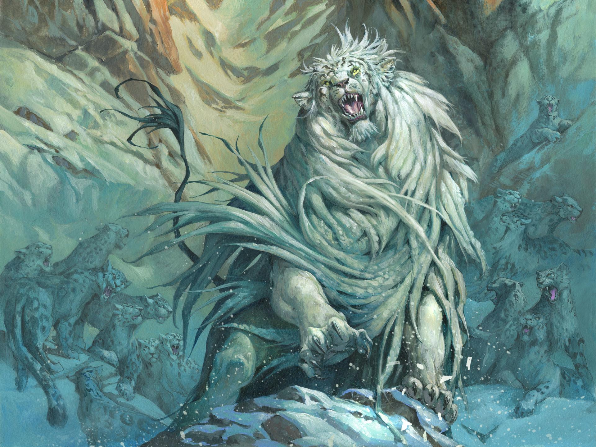 Arahbo, Roar of the World | Illustration by Jesper Ejsing