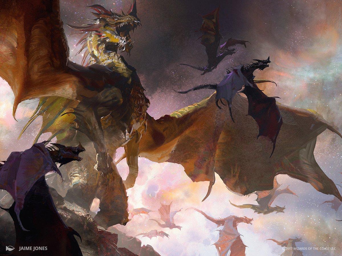 The Ur-Dragon | Illustration by Jaime Jones