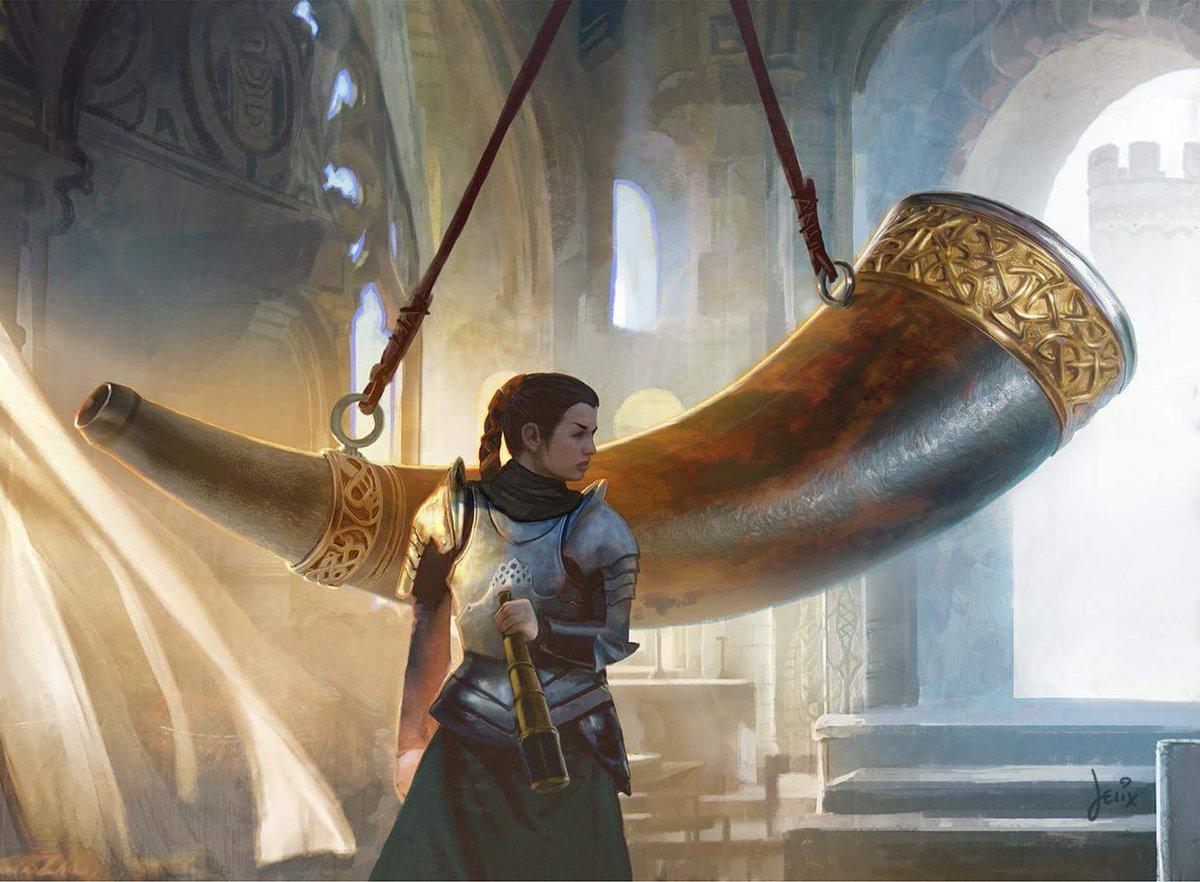 Herald's Horn | Illustration by Jason Felix