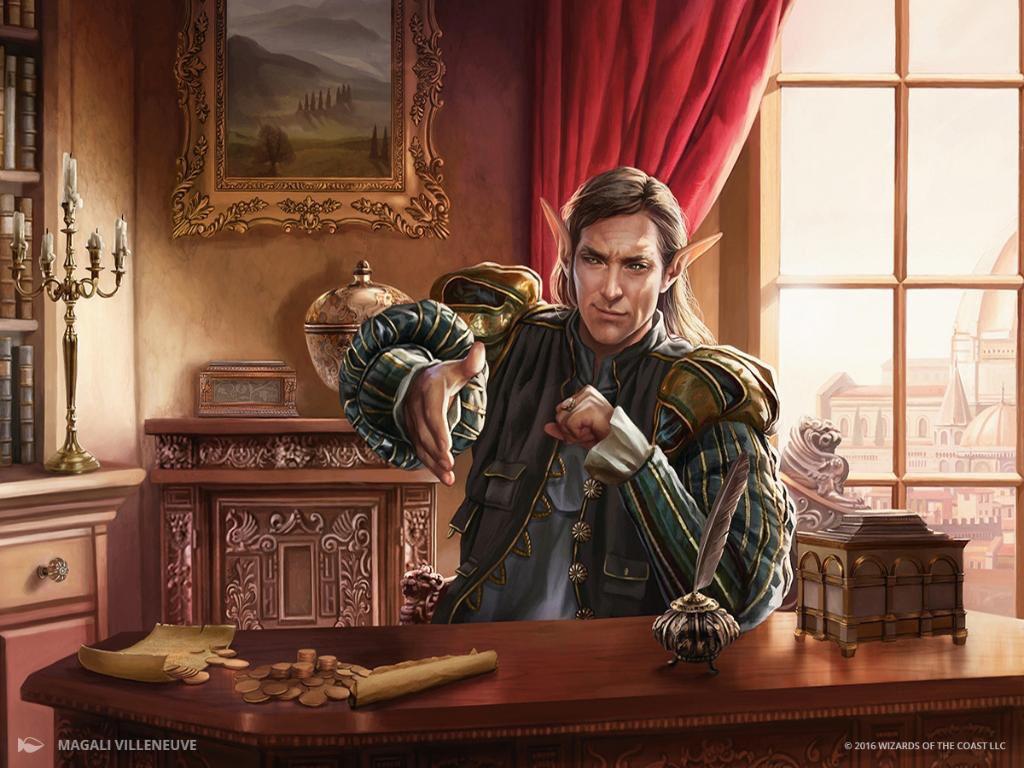 Leovold, Emissary of Trest | Illustration by Magali Villeneuve