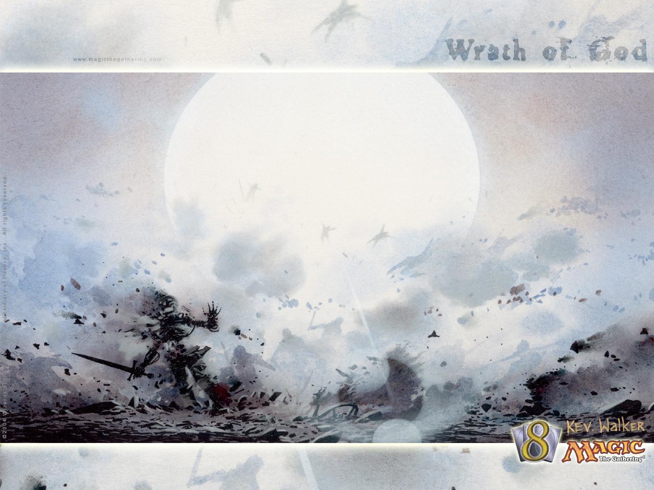 Wrath of God | Illustration by Kev Walker