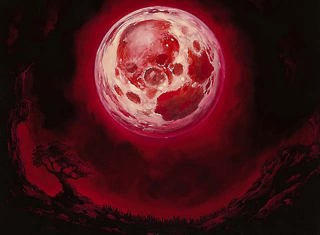 Blood Moon | Illustration by Franz Vohwinkel
