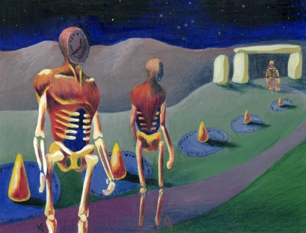 Time Walk (Limited Alpha)   Illustration by Amy Weber