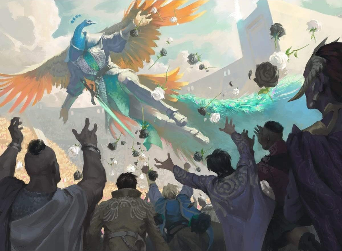 Soaring Show-Off | Illustration by Sidharth Chaturvedi