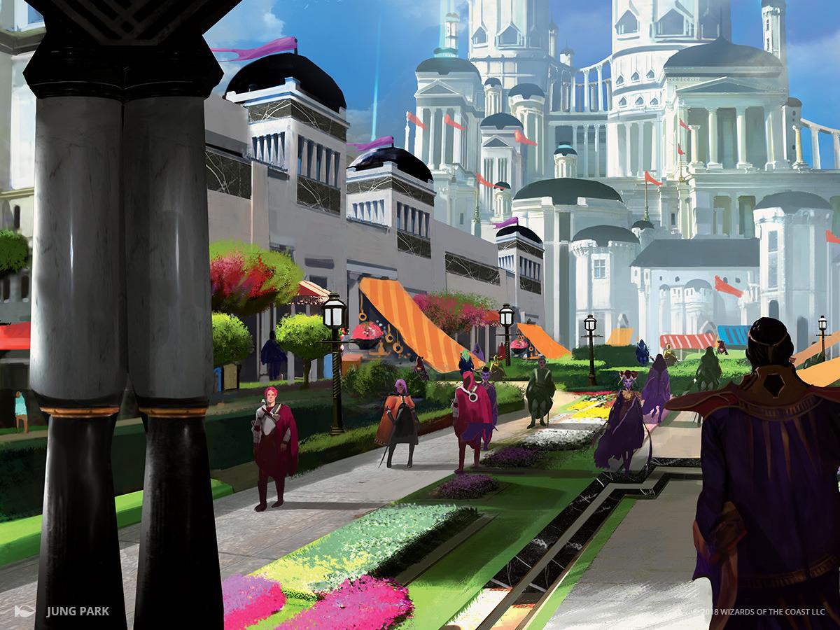 Bountiful Promenade   Illustration by Jung Park