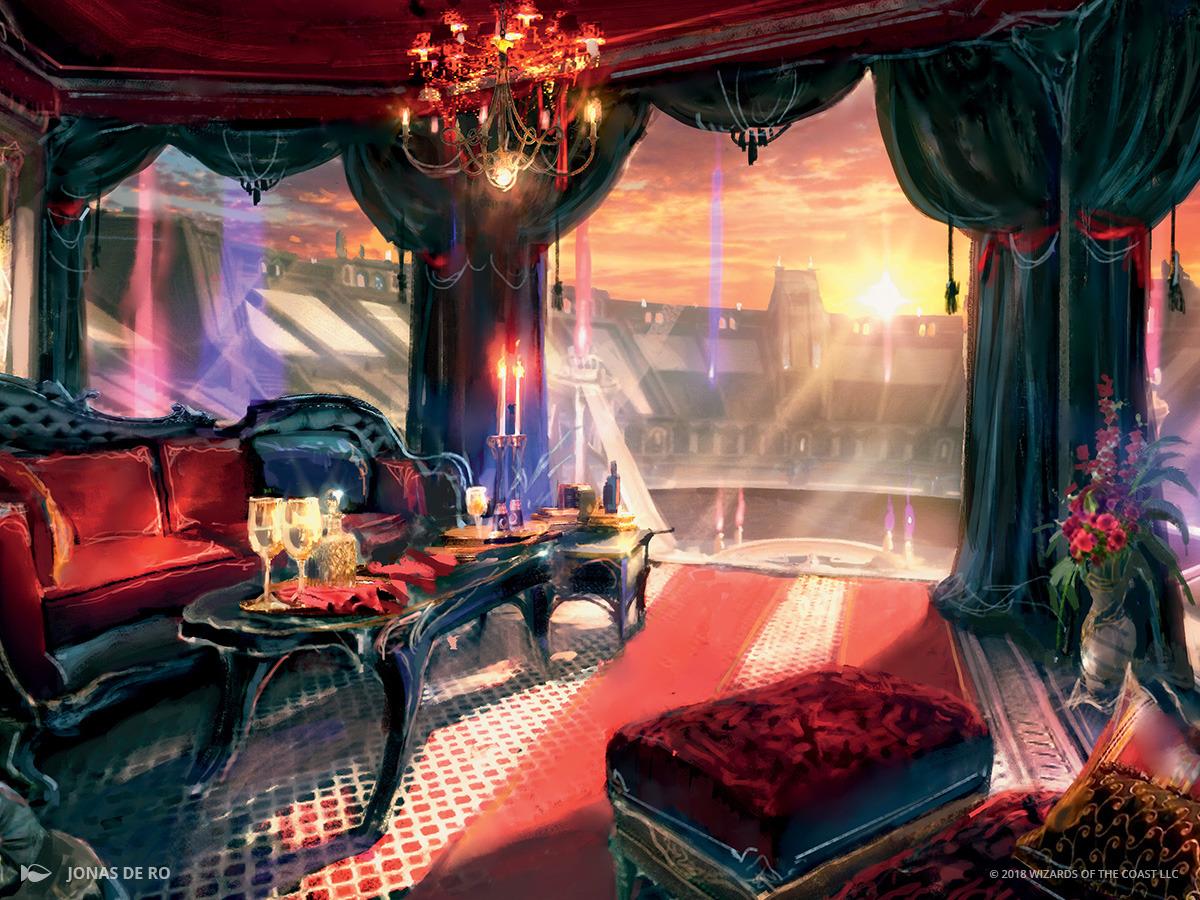 Luxury Suite   Illustration by Jonas De Ro