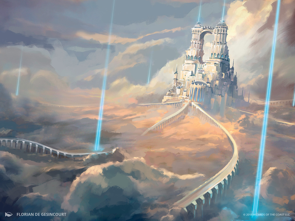 Sea of Clouds   Illustration by Florian de Gesincourt