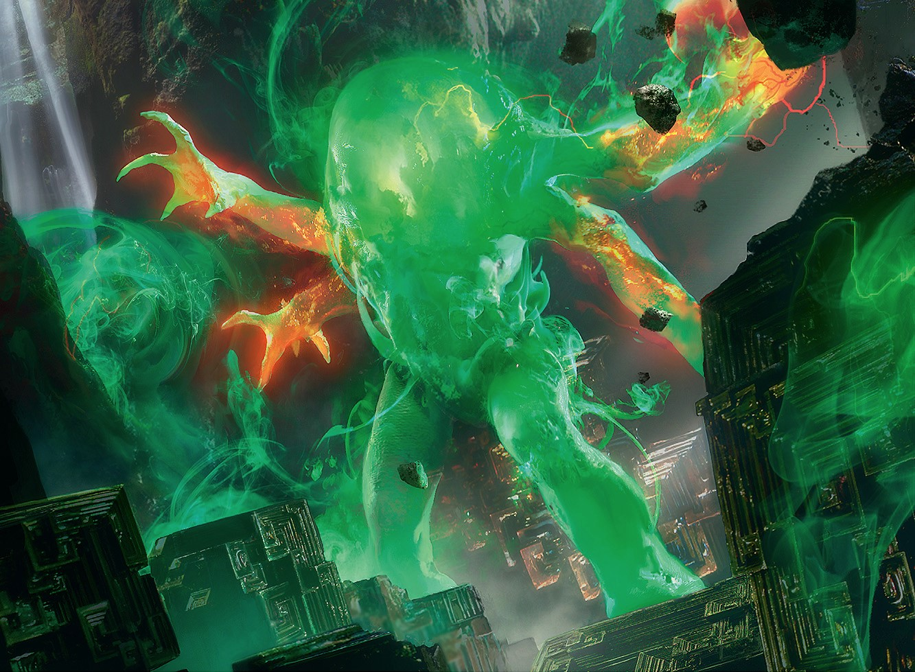 Omnath, Locus of Rage | Illustration by Brad Rigney