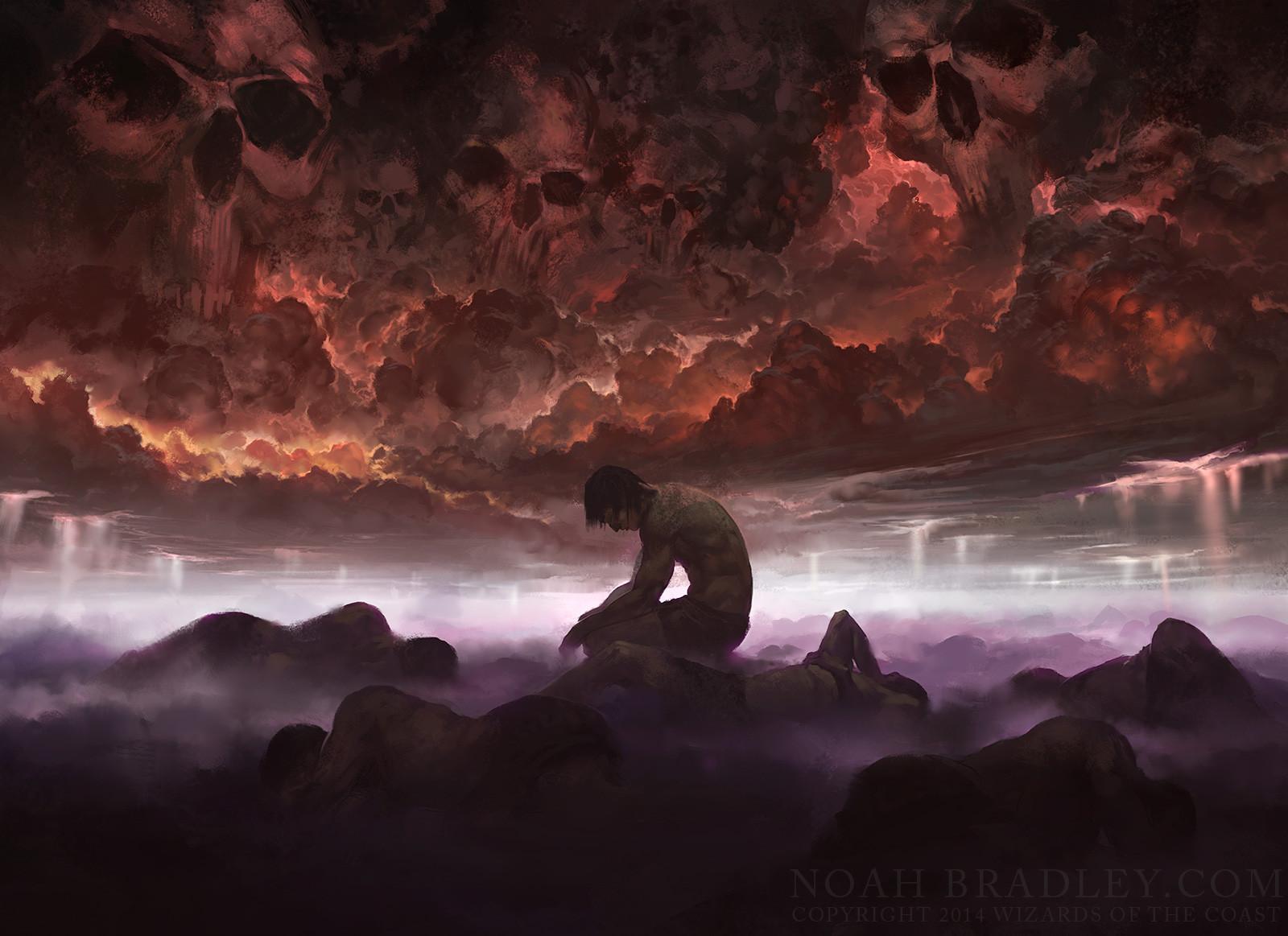 Drown in Sorrow | Illustration by Noah Bradley