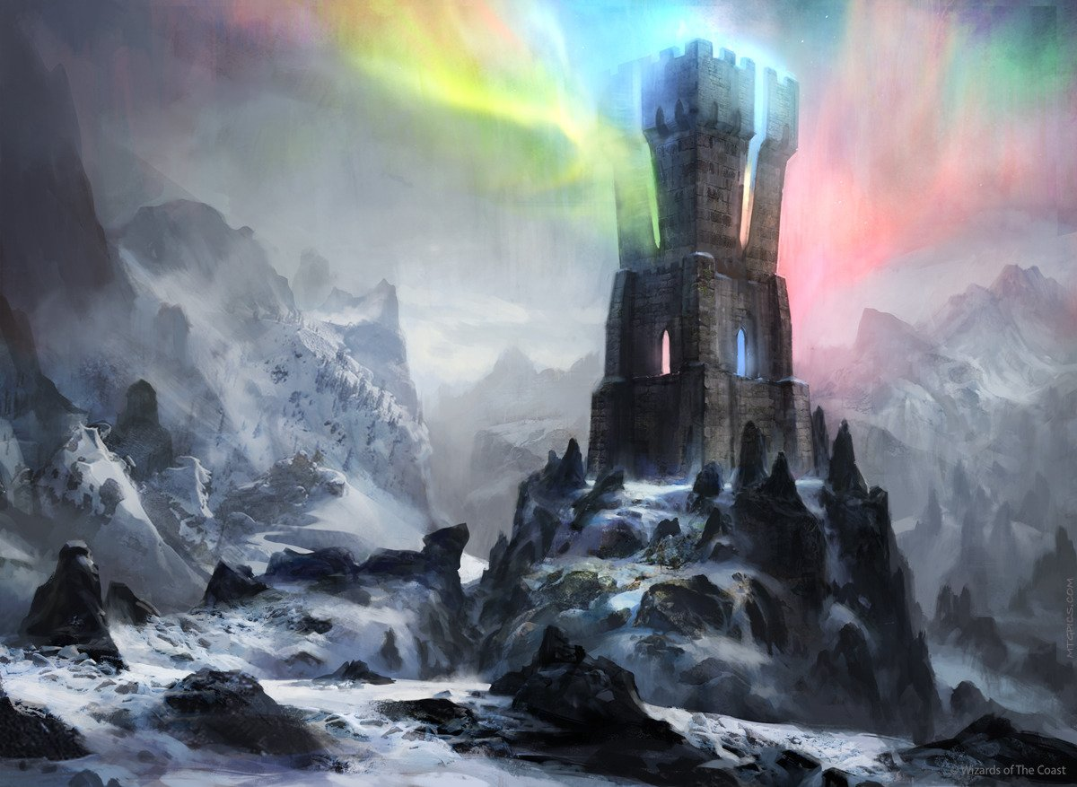Command Tower | Illustration by Adam Paquette