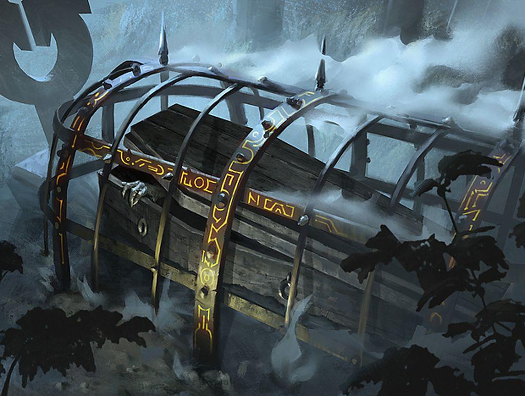 Grafdigger's Cage   Illustration by Daniel Ljunggren
