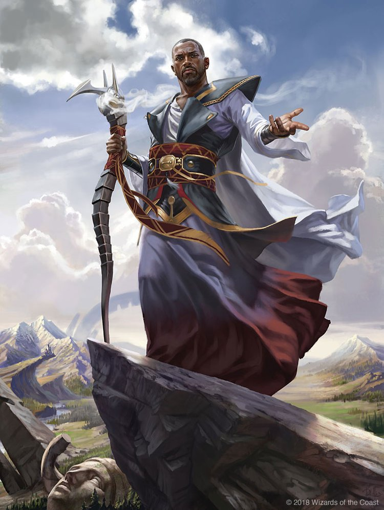 Teferi, Hero of Dominaria | Illustration by Chris Rallis