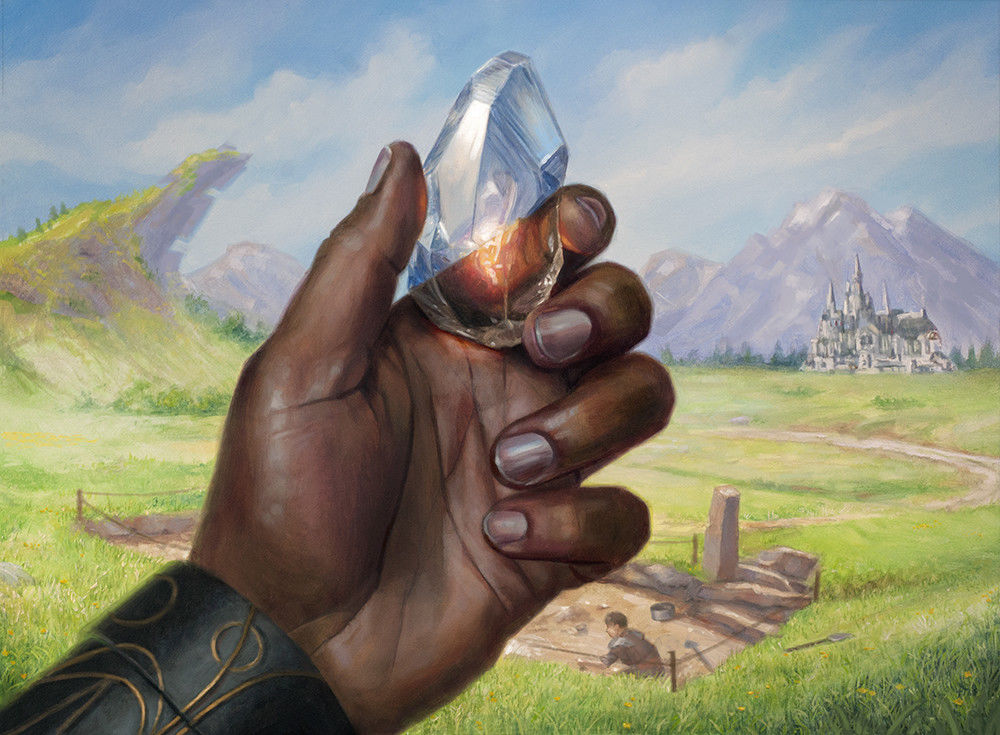 Powerstone Shard | Illustration by Lindsey Look