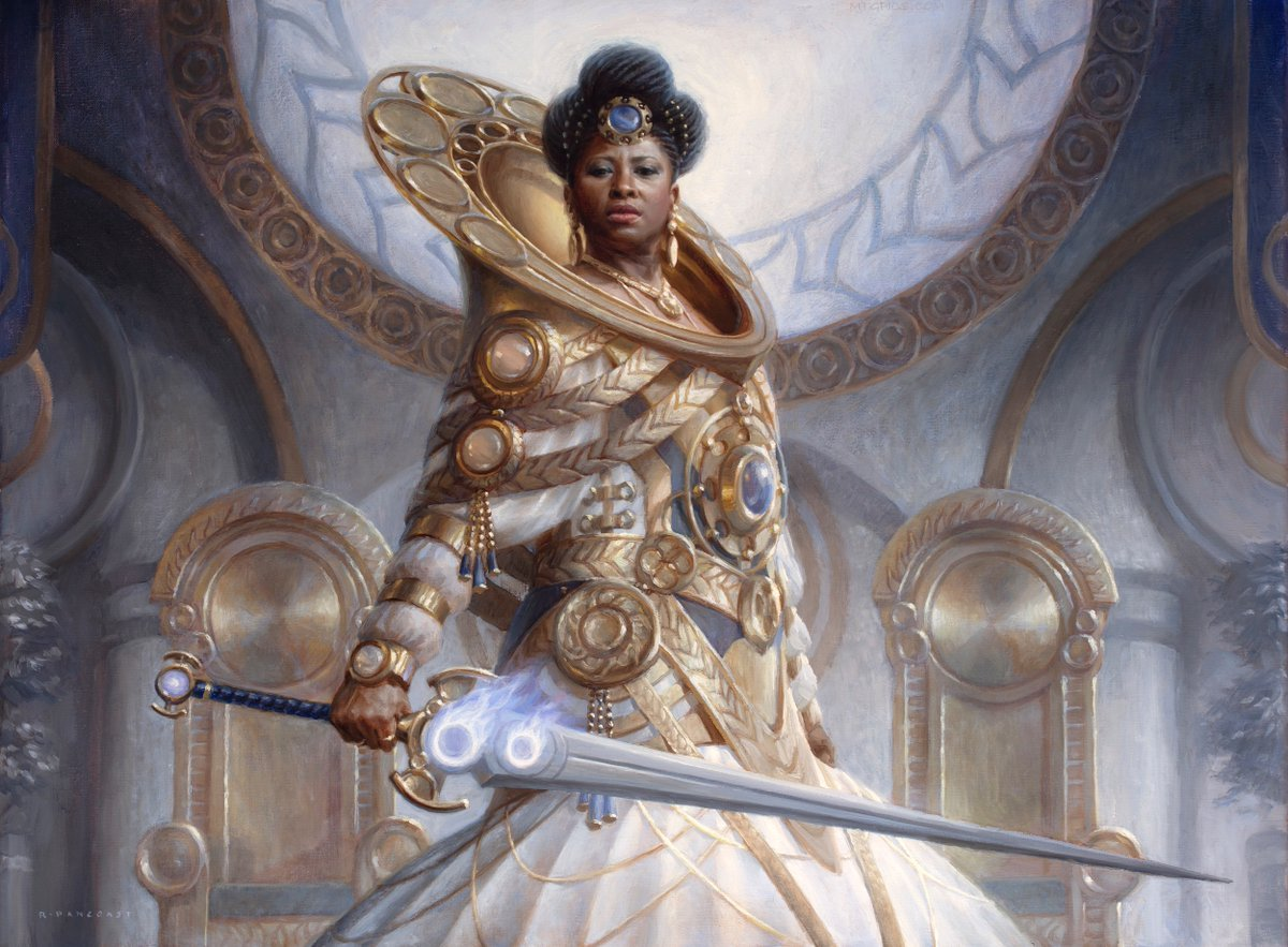 Linden, the Steadfast Queen | Illustration by Ryan Pancoast