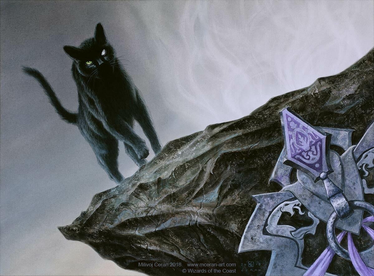 Cauldron Familiar | Illustration by Milivoj Ceran
