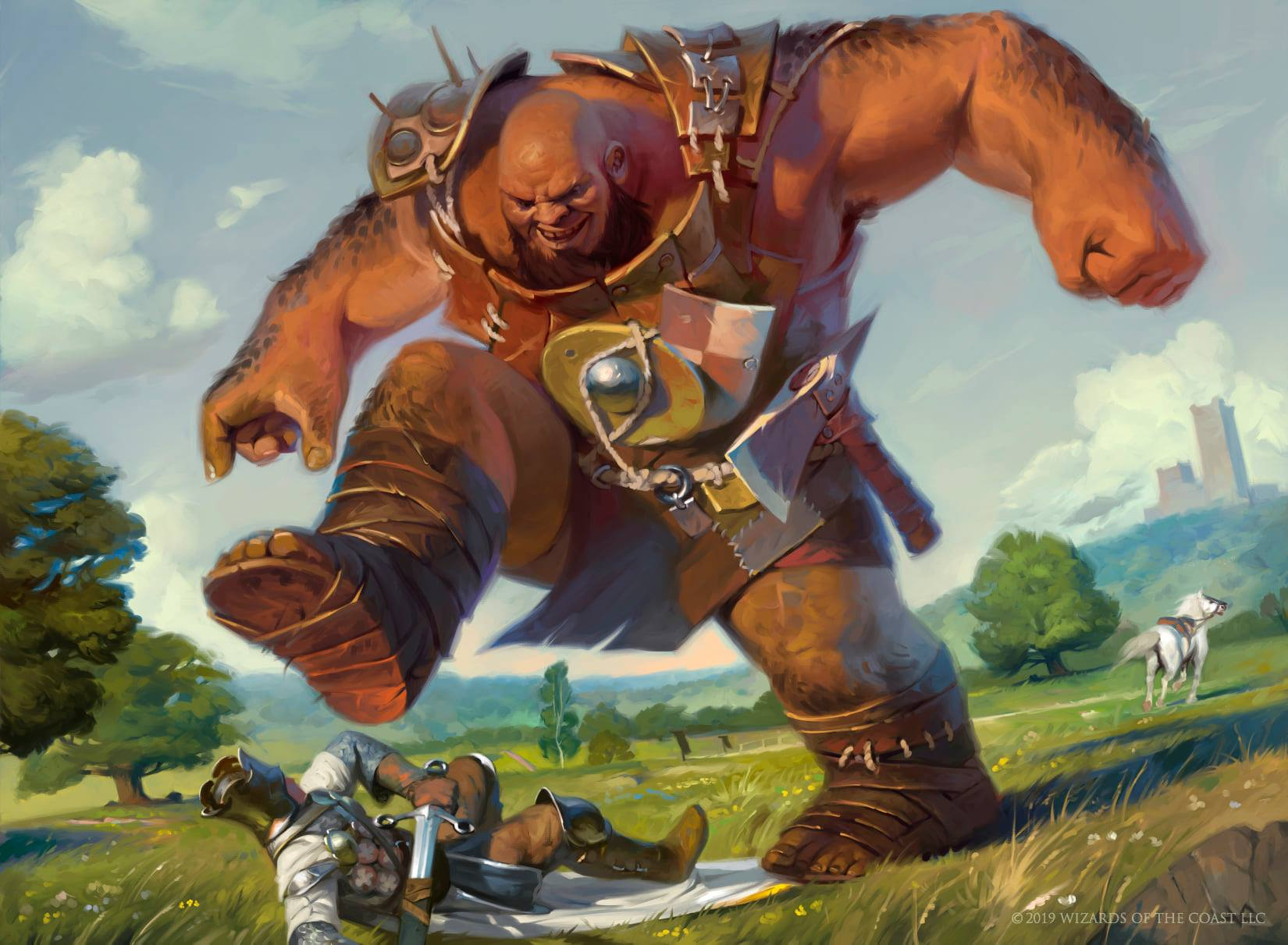 Bonecrusher Giant | Illustration by Victor Adame Minguez