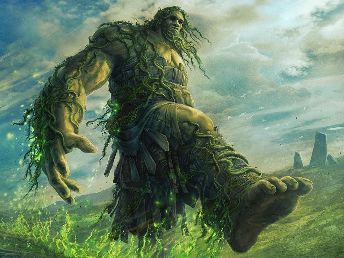 Beanstalk Giant | Illustration by Jason A. Engle
