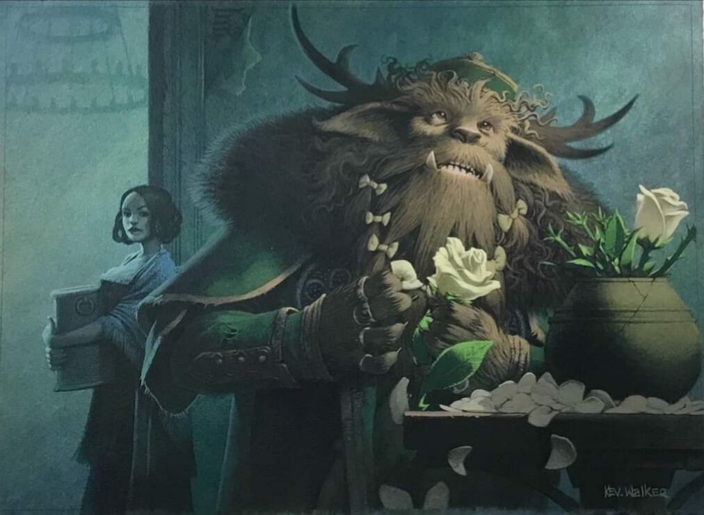 Lovestruck Beast | Illustration by Kev Walker