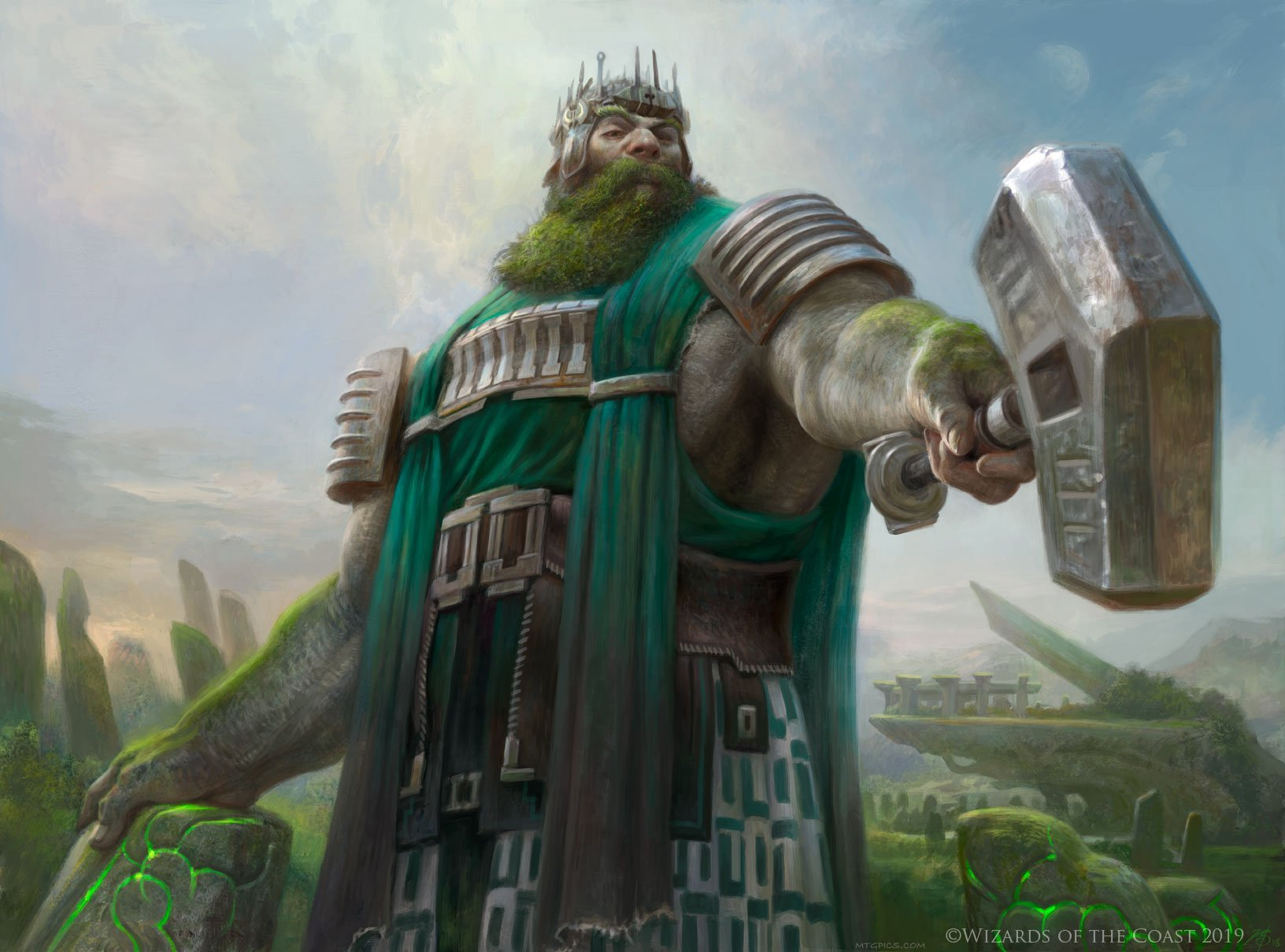 Yorvo, Lord of Garenbrig   Illustration art by Zack Stella