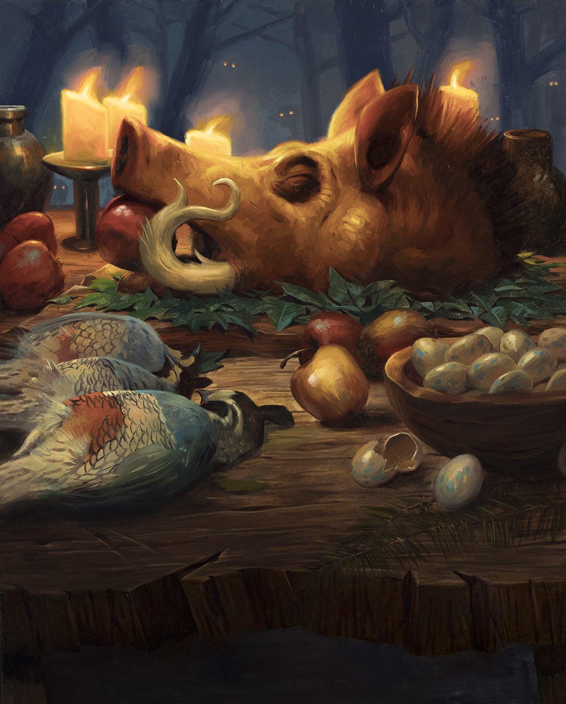 Food token | Illustration by Lucas Graciano